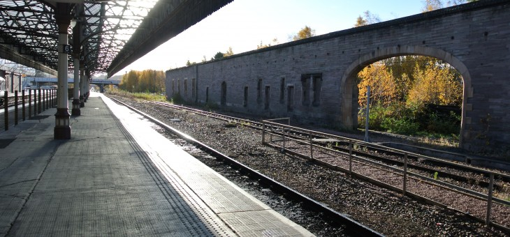 Inverkeithing to Perth rail route safeguarded