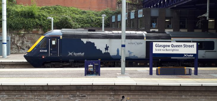 "Welcome for ScotRail inter-city trains, ""the best diesel trains ever to run in the UK"""